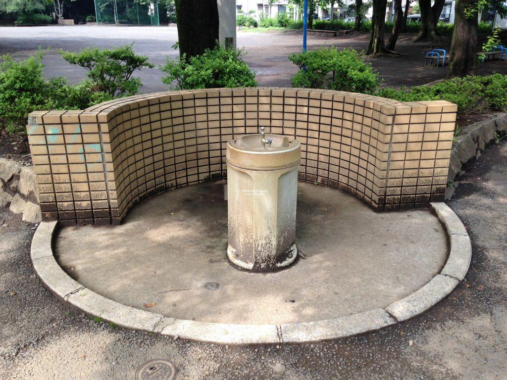 栗山公園 水飲み場