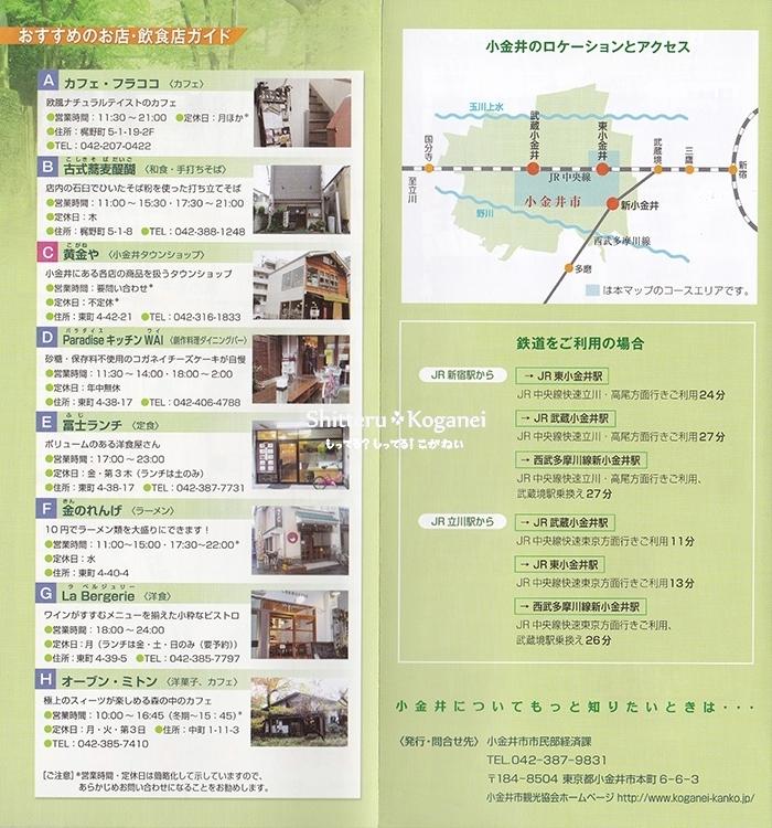 小金井まち歩きマップ⑩-3