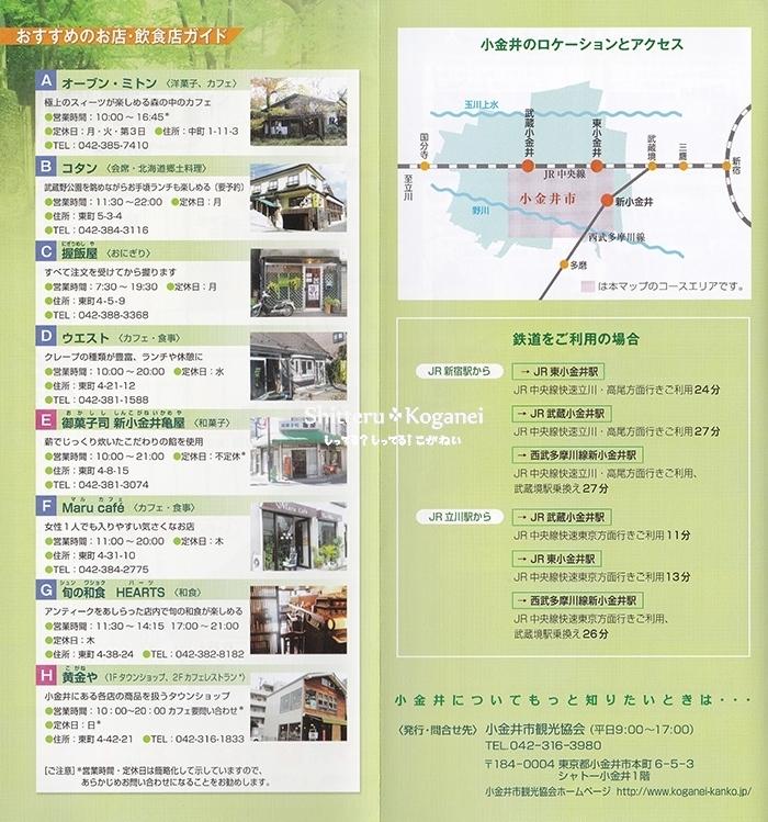 小金井まち歩きマップ②-3