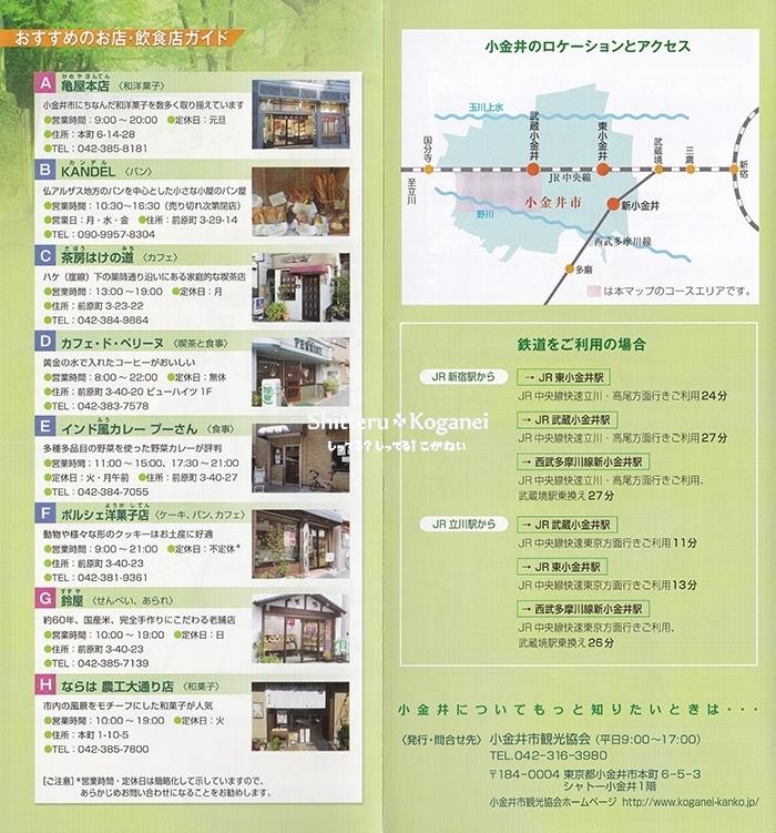 小金井まち歩きマップ①-3