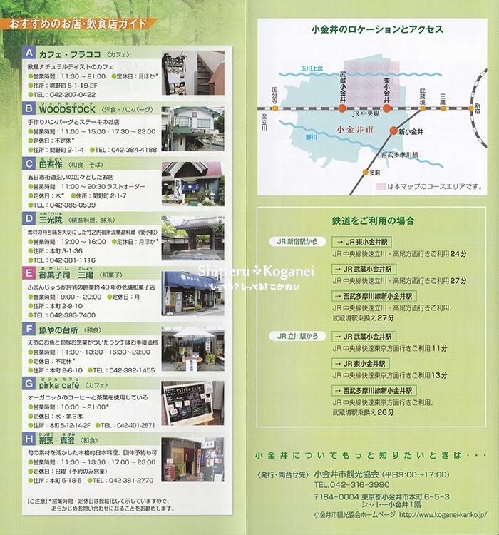 小金井まち歩きマップ③-3
