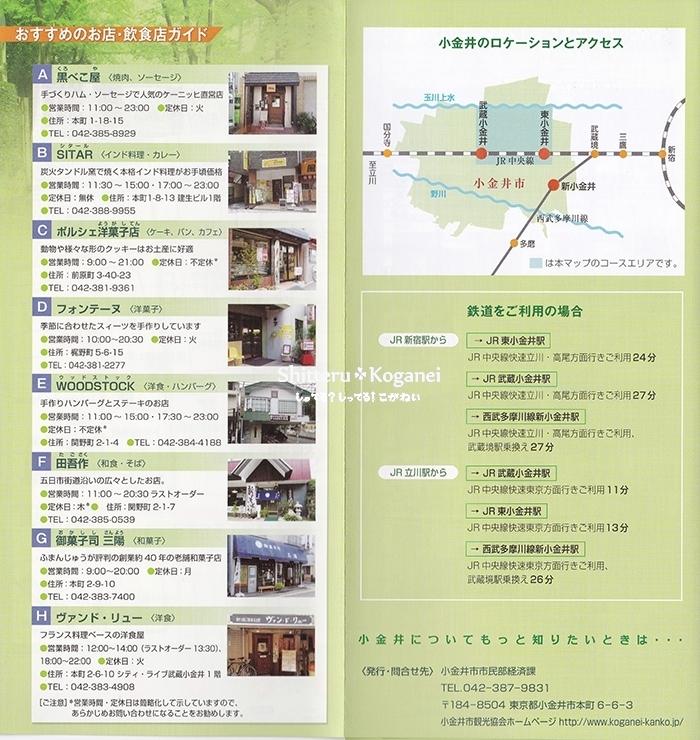 小金井まち歩きマップ⑨-3