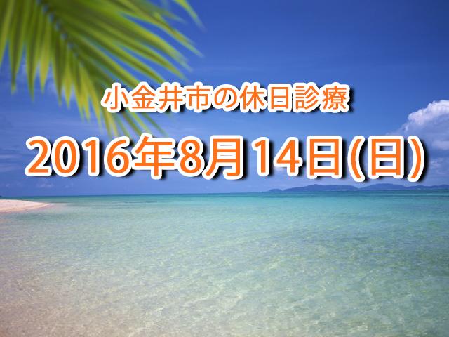 小金井市休日診療TOP_20160814