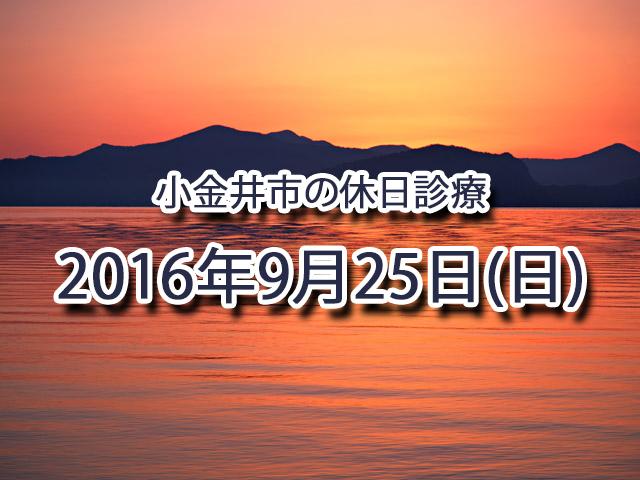 小金井市休日診療TOP_20160925