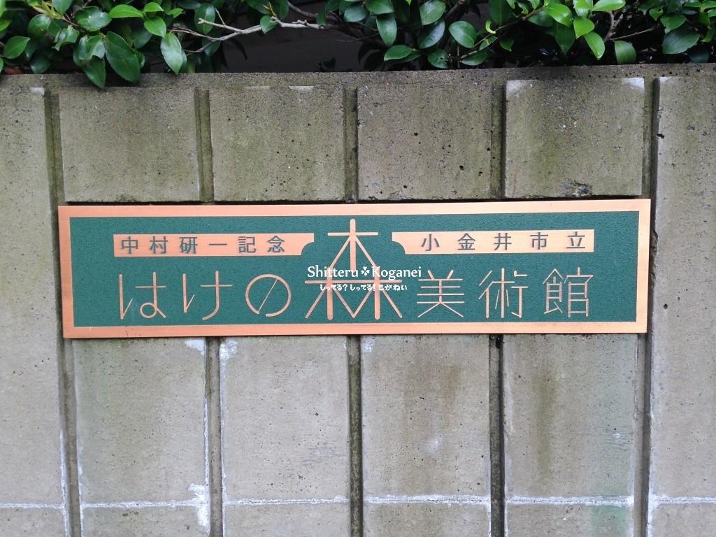 中村研一記念 小金井市 はけの森美術館