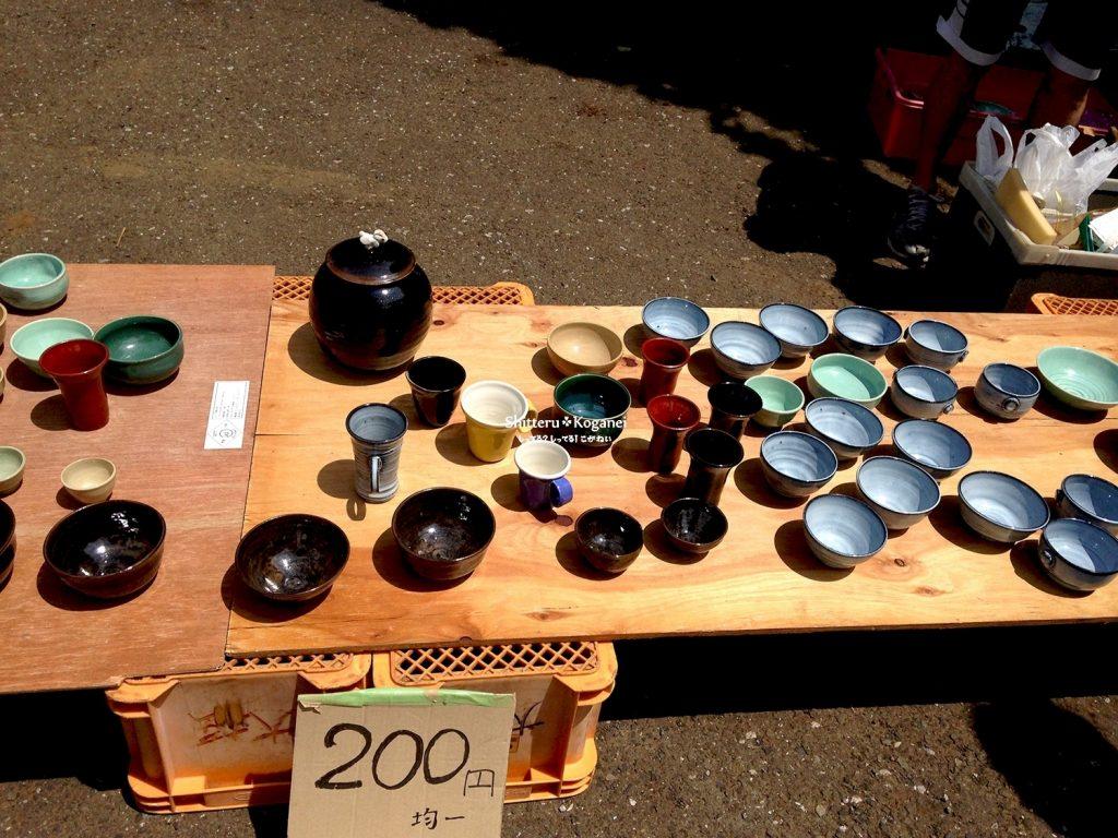 鈴木さんのつくる陶器