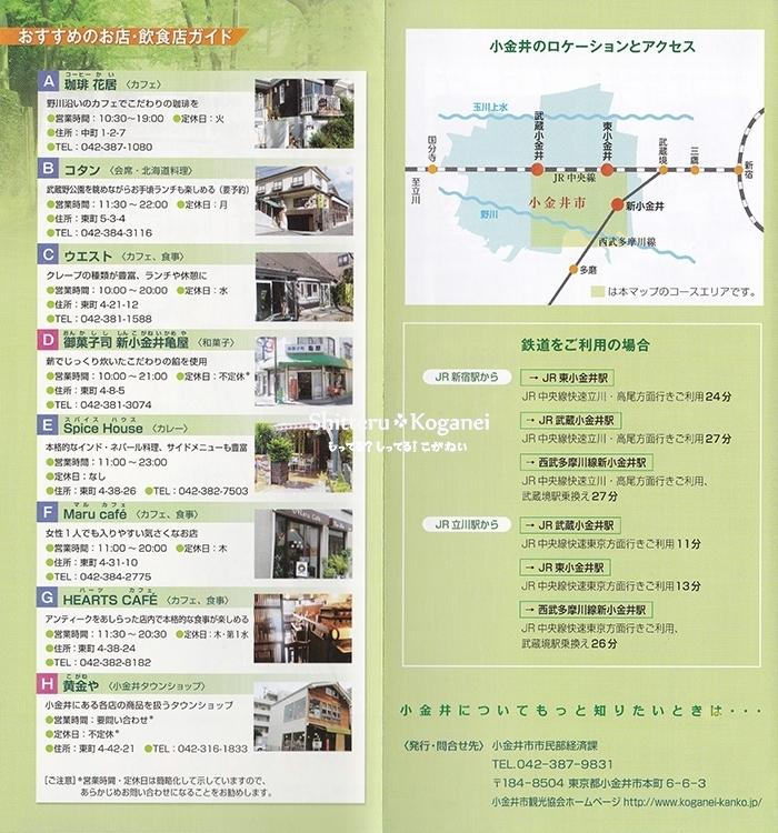 小金井まち歩きマップ⑥-3