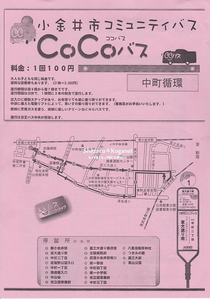 CoCoバス【中町循環】