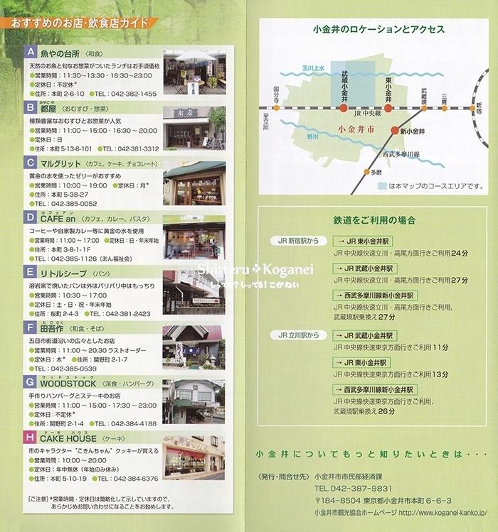 小金井まち歩きマップ⑧-3