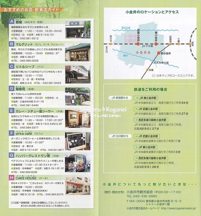 小金井まち歩きマップ④-3