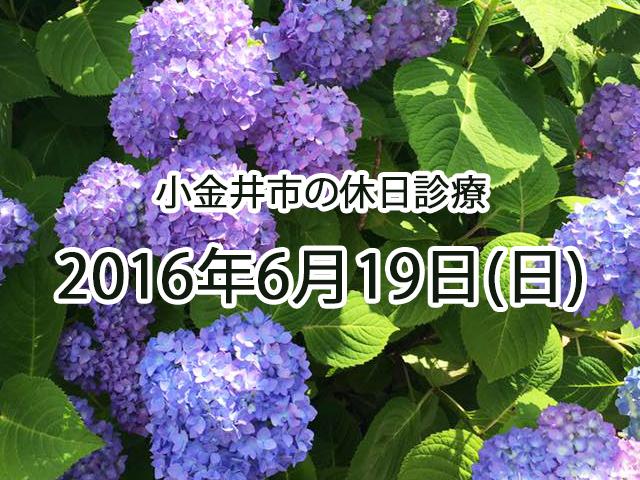 小金井休日診療TOP_20160619