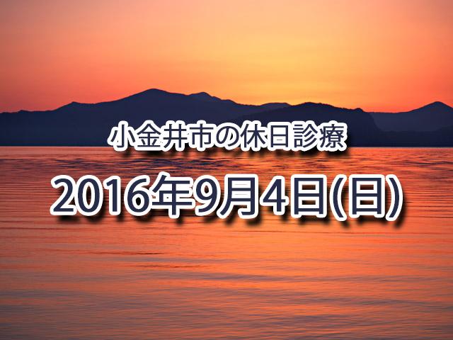 小金井市休日診療TOP_20160904