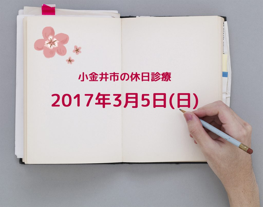 休日診療TOP2017.3.5